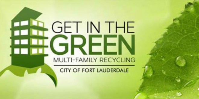 Curbside recycling collection program