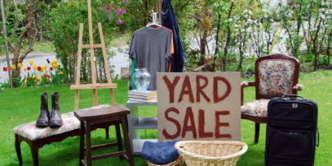 Neighborhood Yard Sale