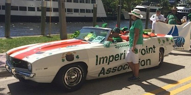 Imperial Point Association Marches in Fort Lauderdale St. Patrick's Parade & Festival