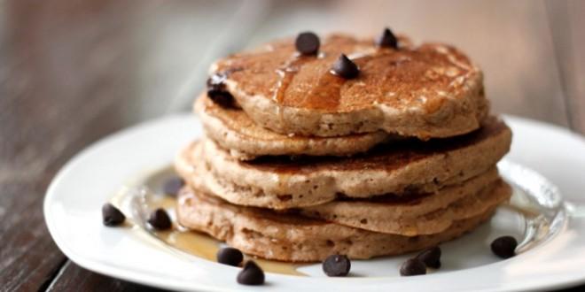 Easy Fluffy Gluten & Lactose Free Banana Pancakes
