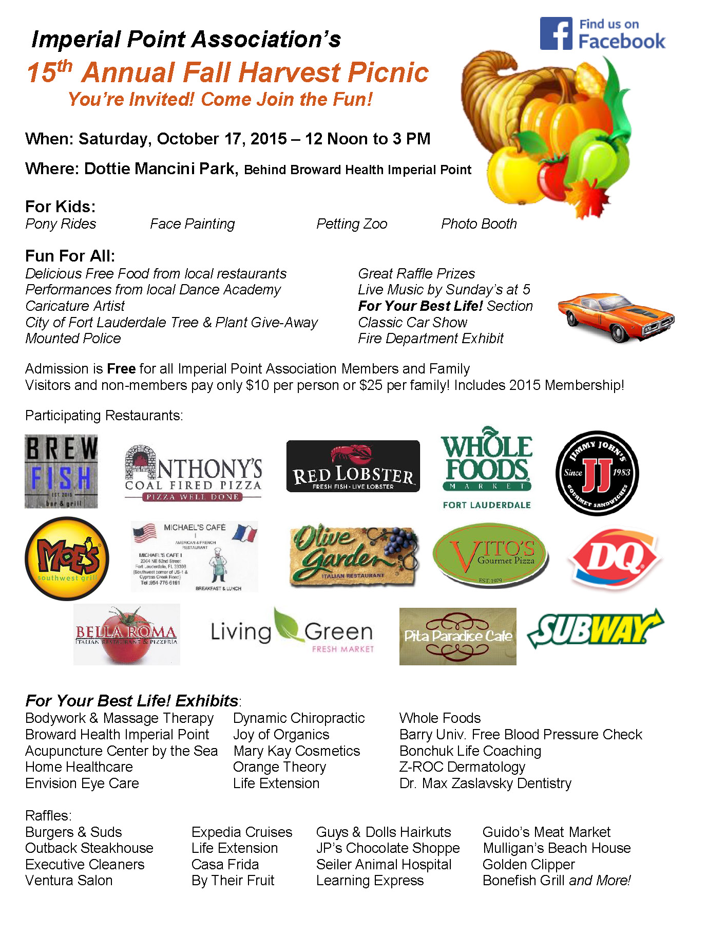 Fall Harvest Flyer 2015