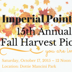 Imperial Point Association's 15th Annual Fall Harvest