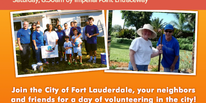Join us October 24th on our next neighborhood beautification project