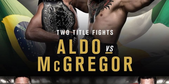 UFC Watch Party. Championship MMA Fights, UFC 194 Aldo vs McGregor