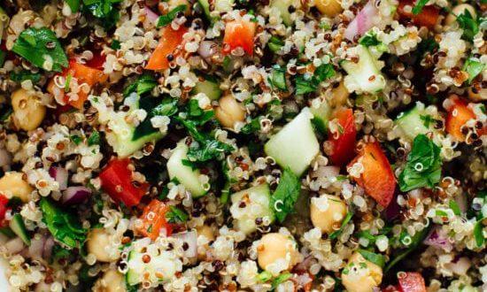 Quinoa & Veggies Salad