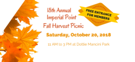 18th Annual Fall Harvest Picnic 2018