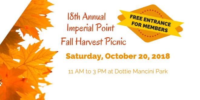 18th Annual Fall Harvest Picnic 2018