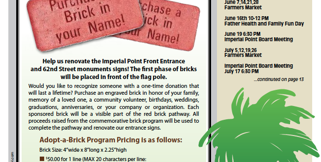2018-06-Imperial Point Newsletter Front Page