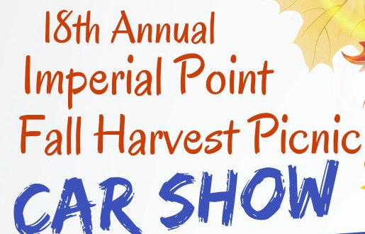 2018 Fall Harvest Flyer – Car Show