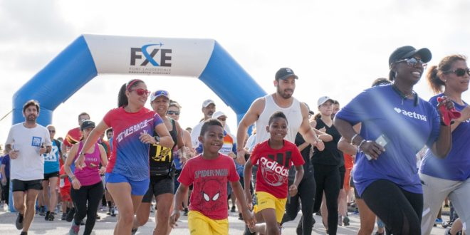 Uptown 5K on the Runway!