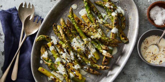 Asparagus With Lemon-Pepper Marinade