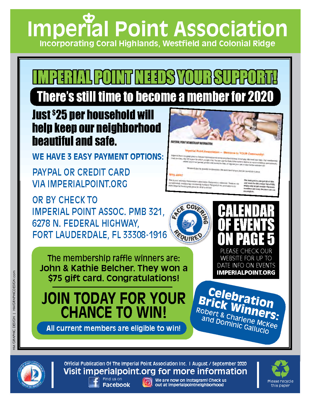 2020-08-Imperial Point Association Newsletter